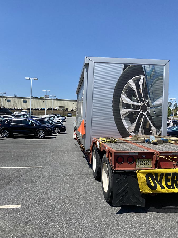 State of the Art Wheel Reconditioning - News - NewArc - delivery