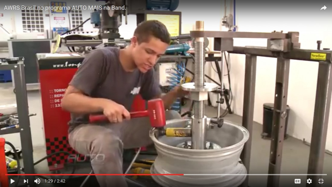 Learn more about NewArc Wheel Straightening Technology - Brazil